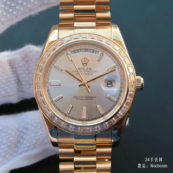 顶级劳力士日志星期日历型218399全自动机械经典男士手表