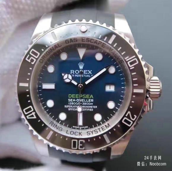一比一精仿劳力士渐变蓝黑鬼王v7终极版SEA潜航者116660胶带款