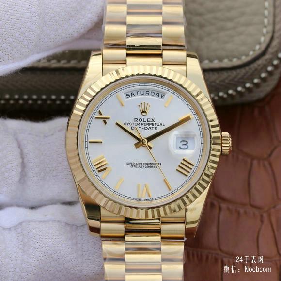 一比一精仿劳力士(ROLEX)星期日历型系列228238男士手表