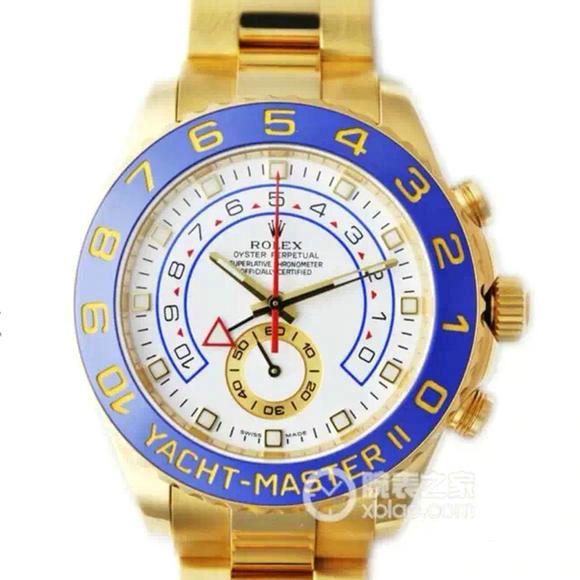 一比一精仿劳力士116681-78218游艇名仕型系列男士机械表