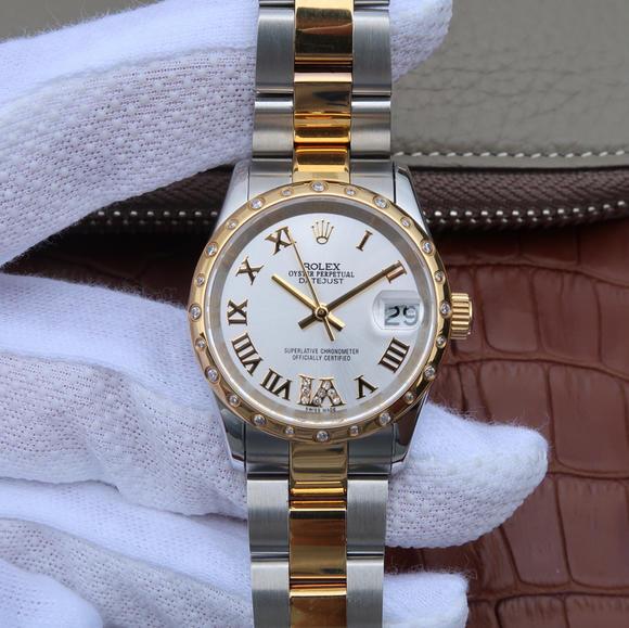 劳力士日志系列178383女士手表 顶级复刻表