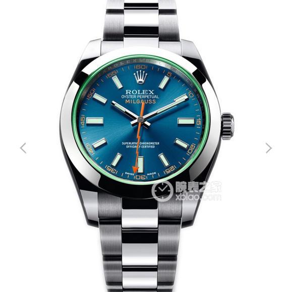 JF厂劳力士116400-GV-72400蓝盘系列顶级复刻手表
