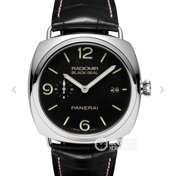 VS沛纳海V2升级版pam00388/PAM388。原装全自动p.9000机械机芯,男士腕表