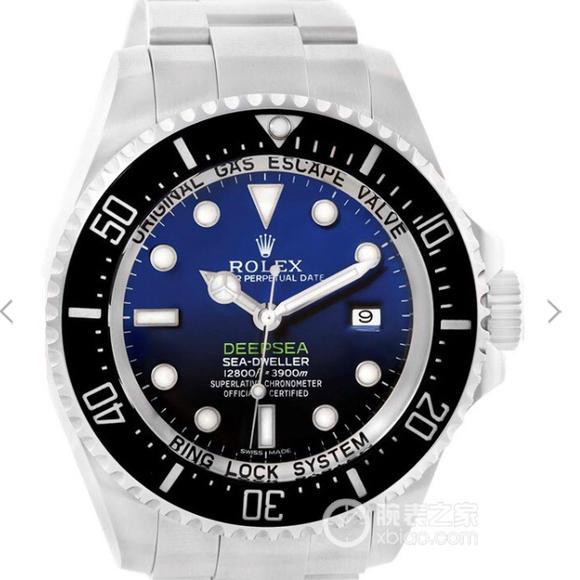 AR劳力士渐鬼904L超级3135机劳力士SEA-DWELLER鬼王 44MM副 钢带男士手表