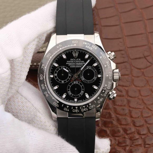 AR迪通拿系列,904L  最高版本ROLEX DAYTONA劳力士迪通那  陶瓷圈口 男士复刻手表