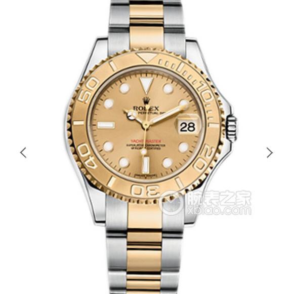 N劳力士游艇名仕?包金版,包金厚金18k真金包玫瑰金,搭载瑞士ETA2836机芯,精钢表带 男士手表