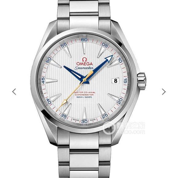 VS欧米茄海马150米系列231.10.42.21.02.002,精钢表带,自动机械机芯  男士腕表