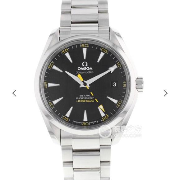 VS欧米茄海马150米系列231.10.42.21.01.002,精钢表带,自动机械机芯  男士腕表