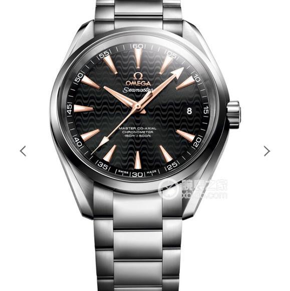 VS欧米茄海马150米系列爆款字面搭载1:1正品 8500机芯 精钢表带 男士腕表