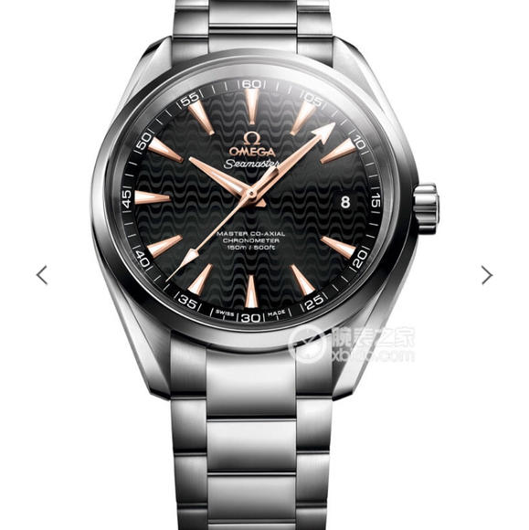VS欧米茄海马150米 里约奥运特别版 搭载1:1 8500机芯 精钢表带 自动机械男士腕表