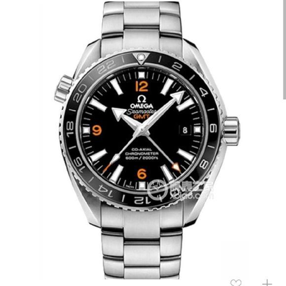 VS欧米茄海洋宇宙GMT 43.5mm 1:1 8605 机芯 精钢表带 自动机械男士腕表