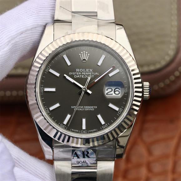 AR劳力士126334超强神作RO LEX DATEJUST超级904L日志型41系列 男士机械腕表