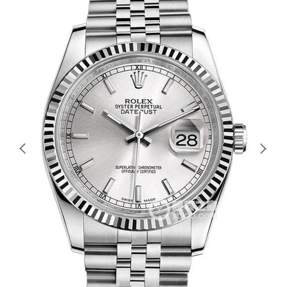 DJ劳力士日志型36纪念花纹面款116234 钢精表带 复刻3135自动机械机芯 男士腕表