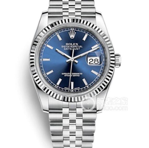 DJ劳力士日志型36纪念花纹面款m116234-0139 精钢表带 复刻3135自动机械机芯 男士腕表