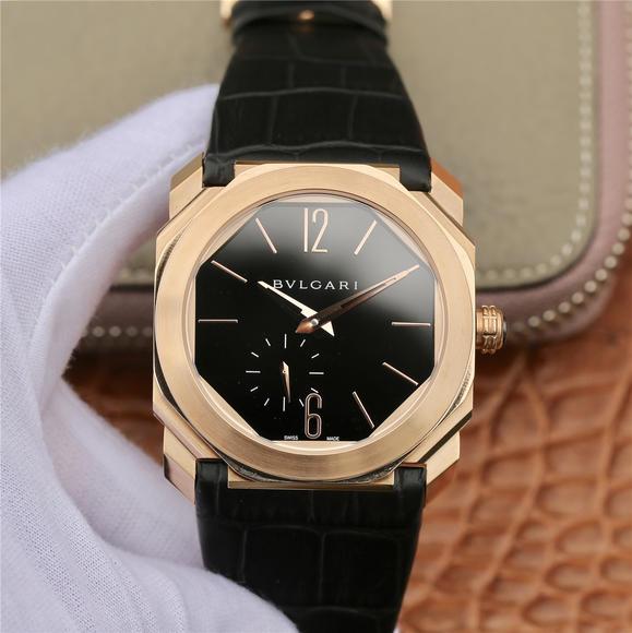 JL宝格丽OCTO系列腕表 皮带表 自动机械机芯 男士腕表
