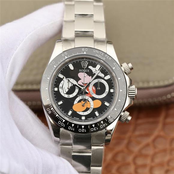 N劳力士迪通拿-116598RBOW系列 延续始于1963经典力作 功能男士机械手表