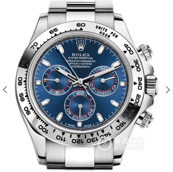 JH劳力士迪通拿全新升级版本 精钢表带 自动机械机芯 男士腕表