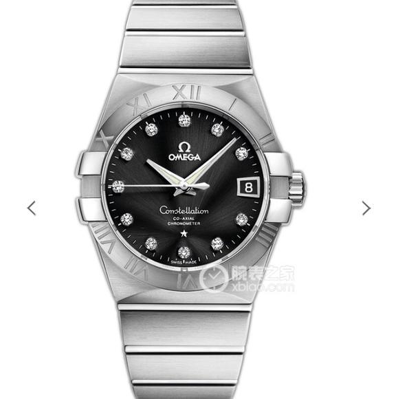 VS欧米茄星座才是欧米茄精髓  一款好看款式 精钢表带 男士机械手表
