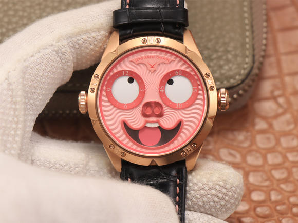 TW俄罗斯小丑【最高版本V3S真功能快调月相】与原版同步 皮带表 自动机械机芯 男士腕表