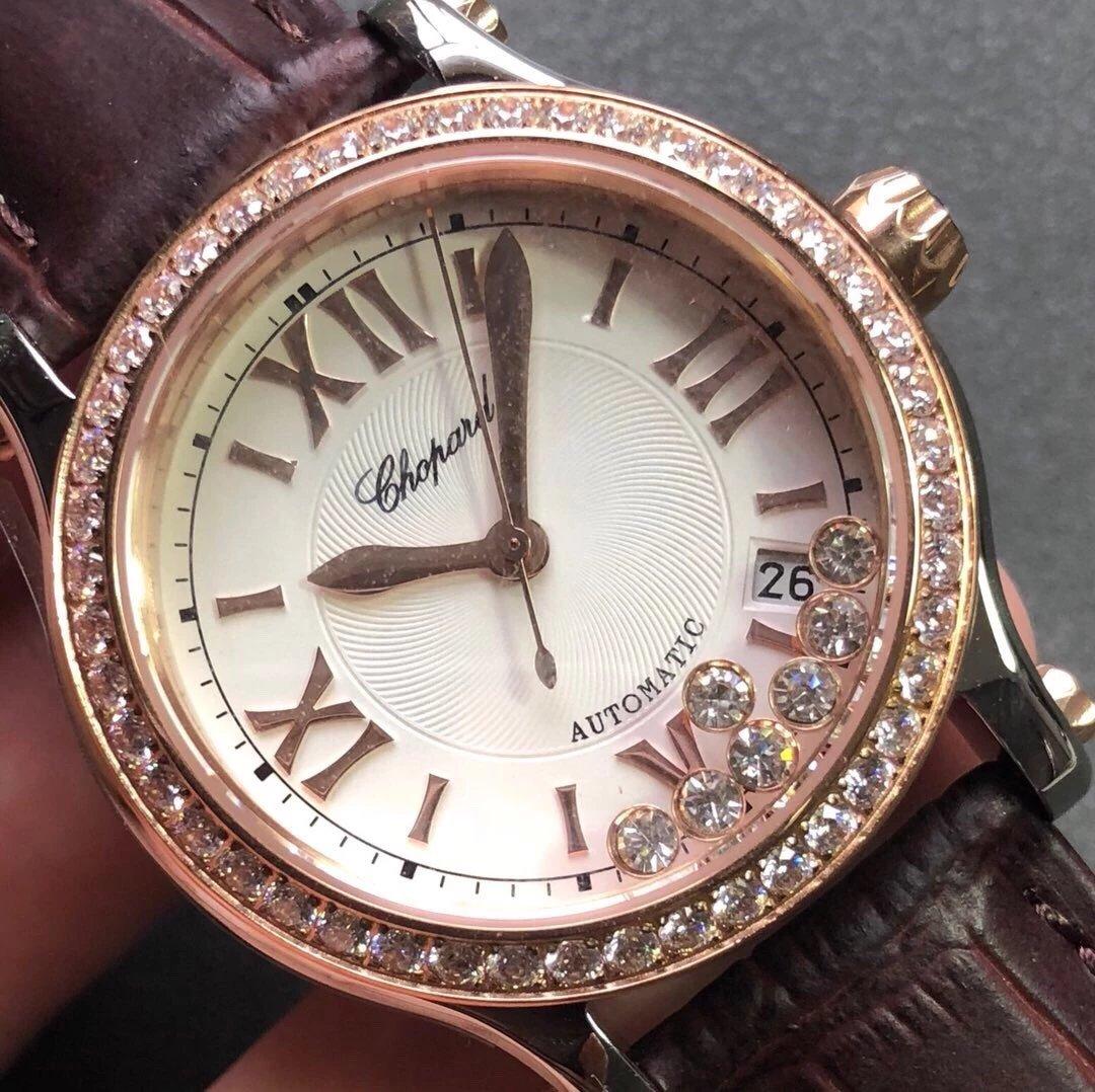 萧邦品牌设计总监曾这样说过:「HappySport是珠宝工艺与制表工艺相结合的成果快乐七钻