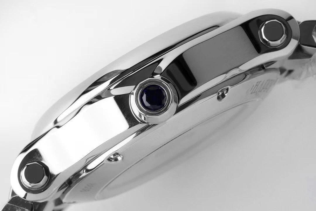 ZF最美33mm萧邦专柜最新款火爆来袭!采用施华洛世奇水晶钻!原装进口零返修机械机芯!瑞士级精工打磨!1比1细节!完美还原正品质感与每一颗快乐钻的旋转跳跃!