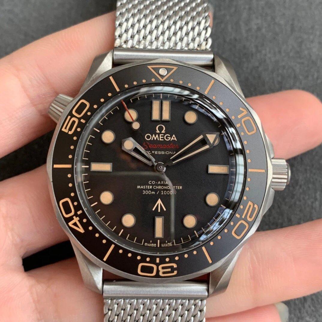 VS厂欧米茄邦德007-无暇赴死腕表帆布米兰带超强夜光男士手表