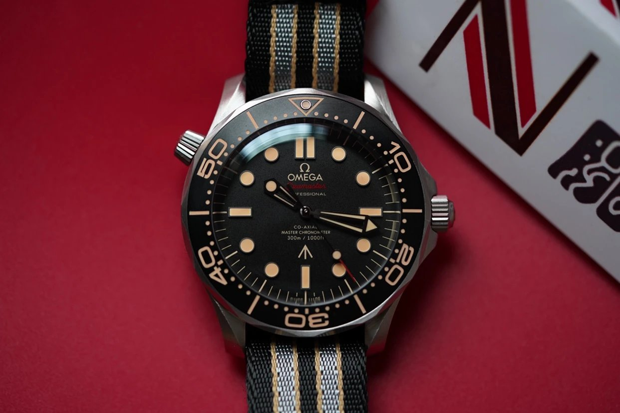 VS欧米茄海马系列007版腕表钛金属表壳邦德007-无暇赴死最高版本