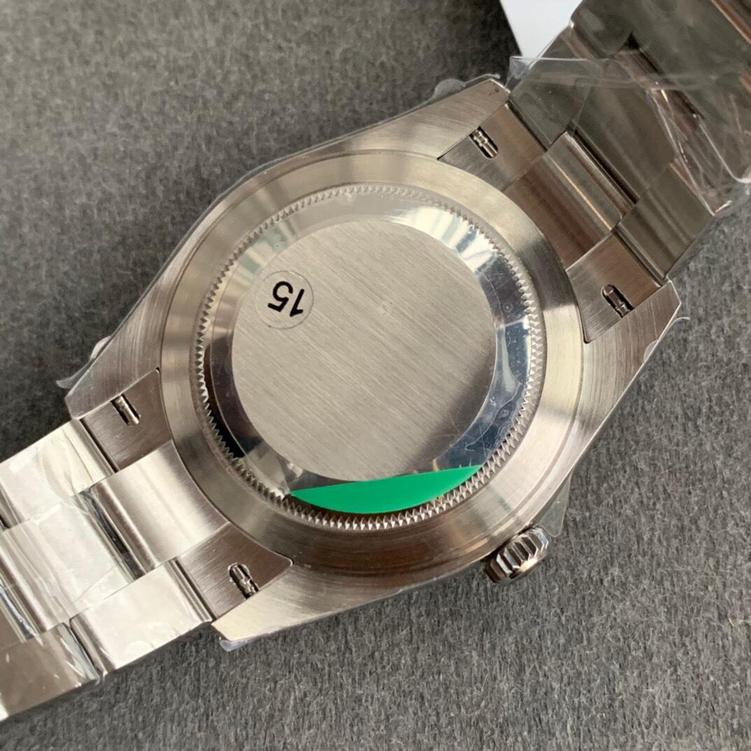 VS厂劳力士日志型41mm,新版6点位小皇冠logo新款表盘,VS自产**3235自动机械机芯动力储存可达70小时